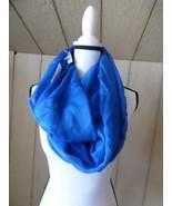$34.00 Calvin Klein Crepe Infinity Loop Scarf, Aegean - $15.49