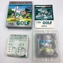 Golf Nintendo Game Boy Japan COMPLETE CIB with box manual DMG-GOA MINT o... - $22.99