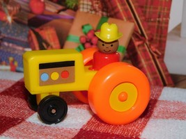 """18"""" Doll Toy Fisher Price Little People Tractor Mini fits Our Generation... - $12.86"""
