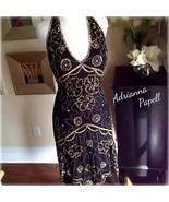 Roaring 20s Inspired Gatsby Dress Beaded Sequin Scallop Flapper Silk Dec... - $150.00