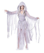 California Disfraces Haunting Belleza Ghost Miedo Adulto Disfraz Hallowe... - $39.86