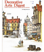Tole Painting Decorative Arts Digest Oct. 1989 Pen & Ink - $5.95