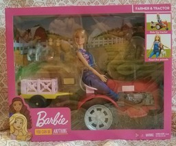Barbie Farmer & Tractor Barbie You Can Be Anything *Lot of 5* - $60.95