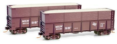 Micro Trains 08400031 MILW 40' Gondola 93118