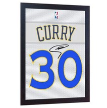Stephen Curry Golden State Warriors signed  printed on CANVAS 100% Cotto... - $20.44