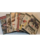 Lot of 7 Sports Games for Sony PlayStation 2 - $24.70