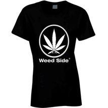 Weed Side Brand Ladies T Shirt image 3