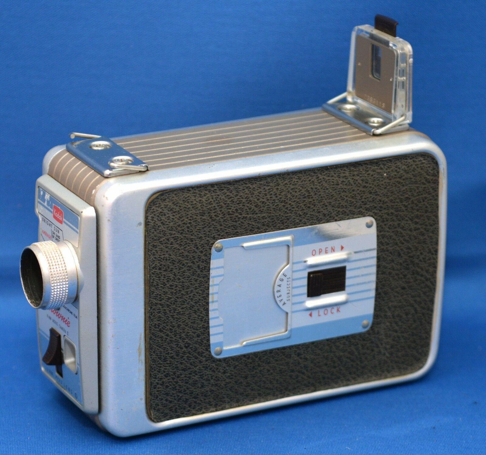 KODAK BROWNIE 8mm Vintage Movie Camera II f/2.3 13mm lens USA