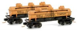 Micro Trains 06600011/012 Shell Tanker 651/652 - $20.25