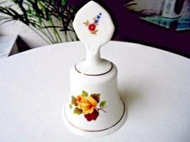 Vintage Staffordshire Porcelain Bell Flowers Pattern  c 1940's - $15.84