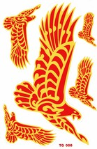 D374 Eagle Wing Bird Sticker Decal Racing Tuning Size 27x18 cm / 10x7 inch - $3.49