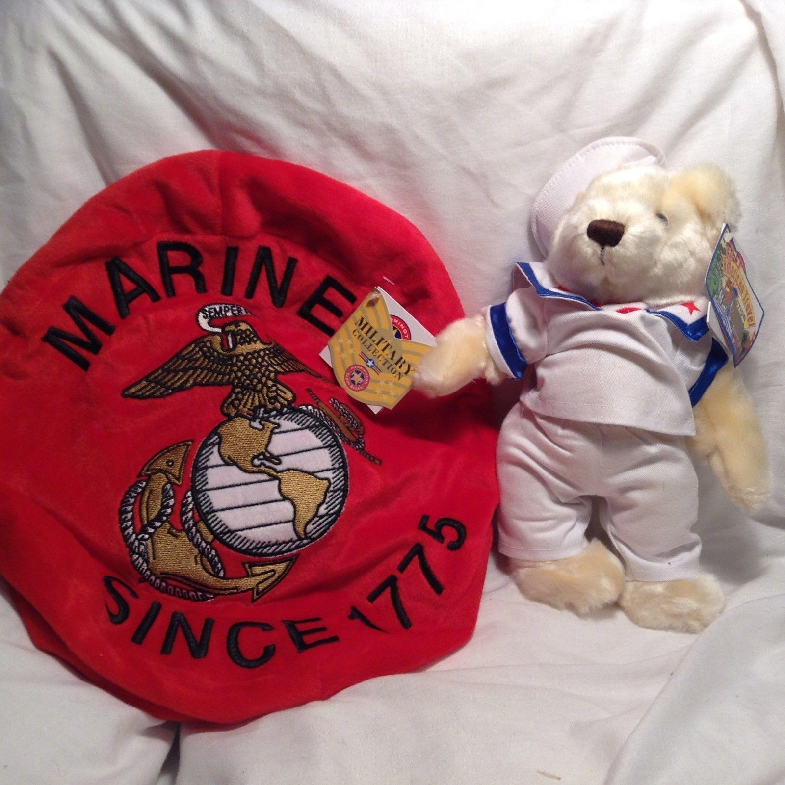 NEW Herrington Teddy Bears Marines Set