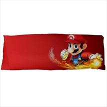 dakimakura body hugging pillow case super mario bros fireball - $36.00
