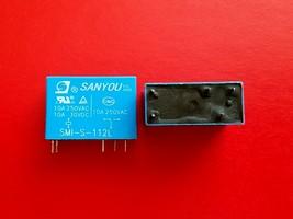 SMI-S-112L, 12VDC Relay, SANYOU Brand New!! - $6.50