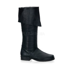 "FUNTASMA Maverick-8812 1 1/2"" Heel Costume Shoe - Black Leather (P) - $119.95"