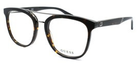 GUESS GU1953 052 Men's Eyeglasses Frames Pilot 51-19-145 Dark Havana + CASE - $64.25