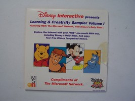 Disney Interactive Learning and Creativity Sampler Vol 1 (PC CD Demo Disc) - $5.63
