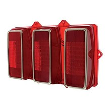 United Pacific 108 LED Sequential Tail Light Lens For 1969 Ford Mustang - $85.29