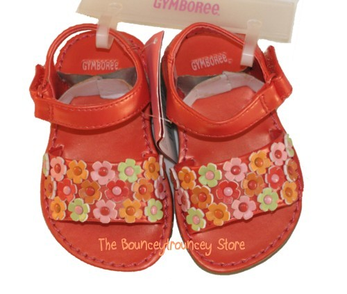 Primary image for NWT Gymboree Beach Shack Tropical Sandals Sz 03