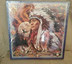 """New F.X.Schmid """"Spirit Of The Full Moon"""" 600 Pc Puzzle Newn Sealed - $13.50"""