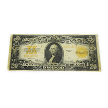 FR-1187 1922 Series $20 Washington Gold Certificate VG to F - $269.00