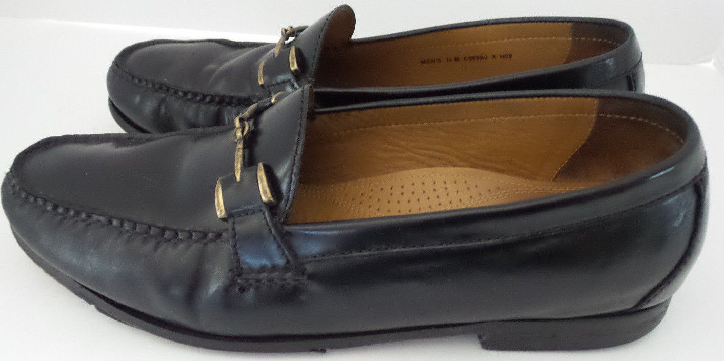 30c1ccad31eb Cole Haan Loafers Mens Black Leather Buckle and 50 similar items. 57