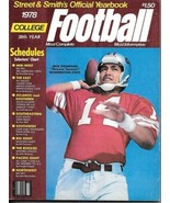 College Football Official Yearbook Magazine Street & Smith 38th Year 197... - $14.50