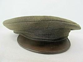 Original Vintage WWII Military Wool Hat Cap Society Brand Headwear Size ... - $36.88