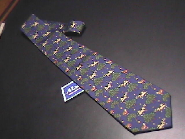 Tie m la hart allegoria new with tags blue cows  dogs   trees 01
