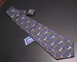 Tie m la hart allegoria new with tags blue cows  dogs   trees 01 thumb155 crop
