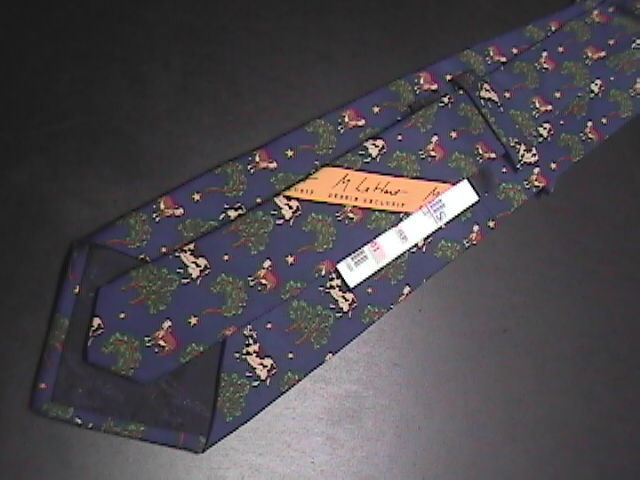 Allegora by M La Hart Silk Neck Tie Never Used and Unworn with Retail Tag