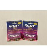 2x RELEEV 1 DAY Cold Sore Symptom Treatment .20oz/6 ml Exp 02/2023 Fever Blister - $35.63
