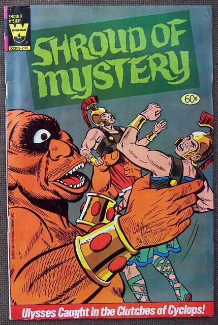 Comic Whitman Shroud Of Mystery No 1 First Ed.
