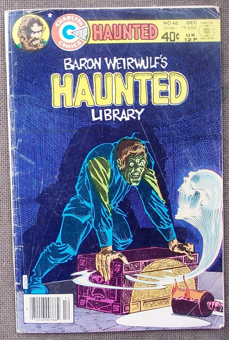 Comic Haunted Baron Weirwulf's Library No 46 Dec 1979