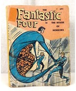 Fantastic Four The House Of Horrors Little Big Book Vintage 5775-1 GC 1968  - $5.00