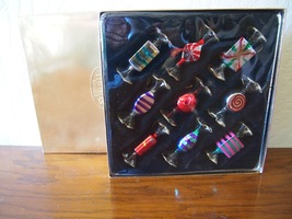 Thomas Pacconi Museum Classics Glass Candy Ornament Set Box 2000 Collect... - $29.95
