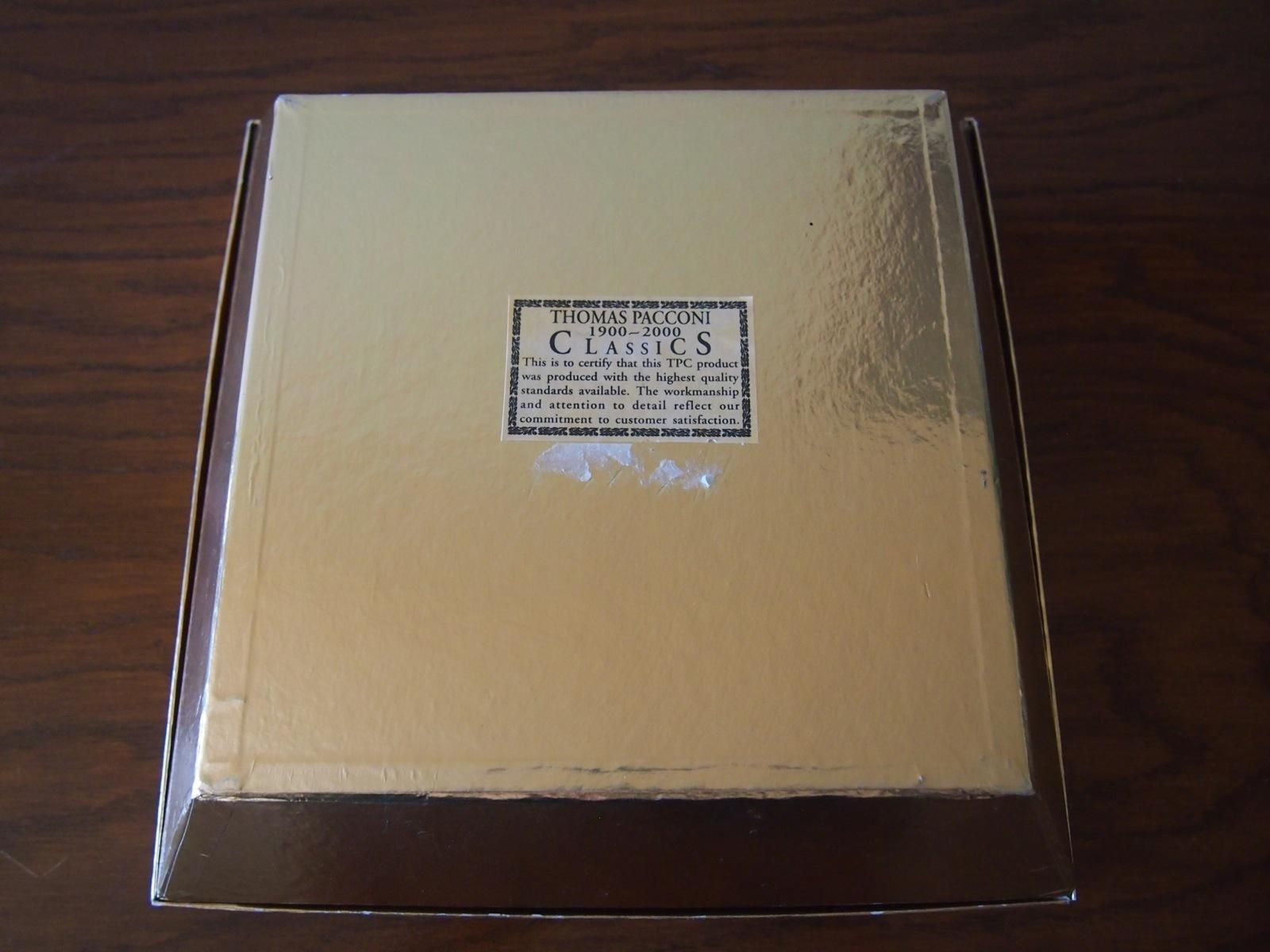 Thomas Pacconi Museum Classics Glass Candy Ornament Set Box 2000 Collection Lot