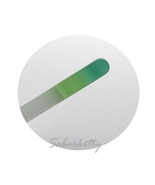 Mint Green Glass Nail File, Ombre, Emery Glass,... - $5.00