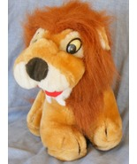 "King of Beasts, Plush toy lion, 9"" gently used - $2.99"