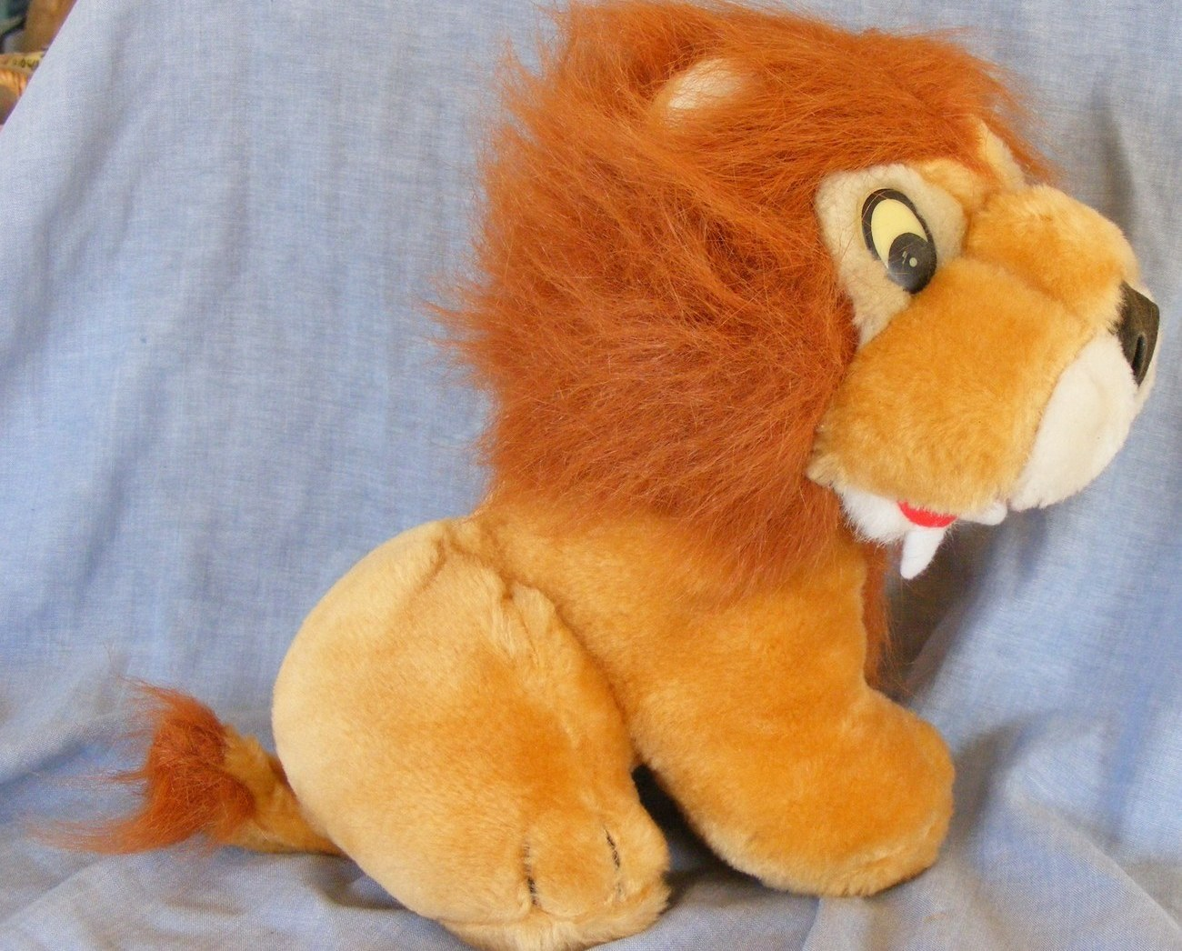 Gently Used Toys : King of beasts plush toy lion quot gently used other