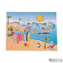"DIY Large Surfing Sticker Scenes (Makes 12) Paper. 11"" x 8 1/2"" - $6.36"