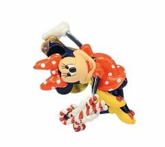 Walt Disney Christmas ornament Danbury Mint vtg figurine holiday Minnie ... - $23.10