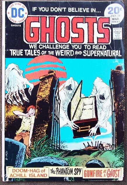 Comic DC Ghosts No 24 March 1974