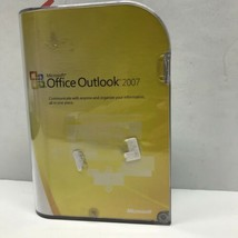 Microsoft Office Outlook 2007 Software with Disc & Product Key - $15.79