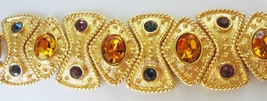 Napier 1991 Limited Edition Royalton BOOK PIECE Runway Statement Bracelet - $200.00