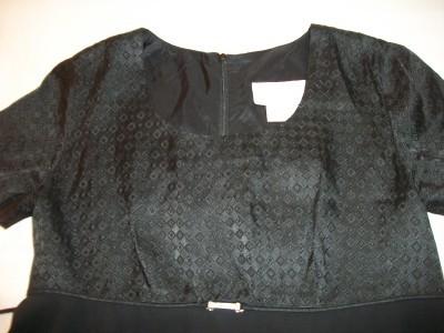 WOMEN MOTHERHOOD BLACK PARTY DRESS SMALL