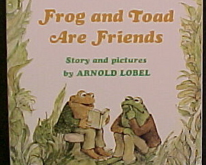 Frog and toad are friends and together 2 bks
