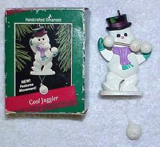 1988 Hallmark Keepsake Ornament - COOL JUGGLER  #QX487-4 - $9.99
