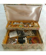 Vintage Large Costume Jewelry Lot Necklaces, Bracelets, Ear Includes Jew... - £23.31 GBP