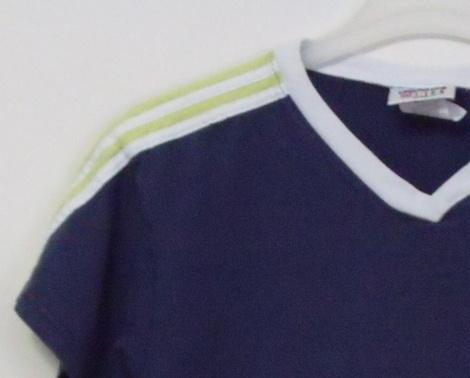 Womens Adidas Navy Blue Cap Sleeve T Shirt Size L